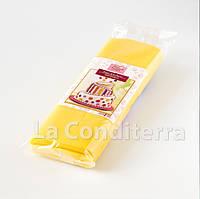 Мастика для обтяжки тортов RUE FLAMBEE, 1 кг, желтая, фото 1