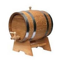 Дубовая бочка для вина (нерж) 10л Своё произвотство.