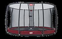 Батут Berg Elite+InGround Red 430+Safety Net T-series 430