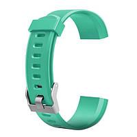 Сменный ремешок для фитнес браслета Lemfo ID115 PLUS (Зеленый), фото 1