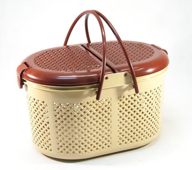Корзины, сумки и посуда для пикника