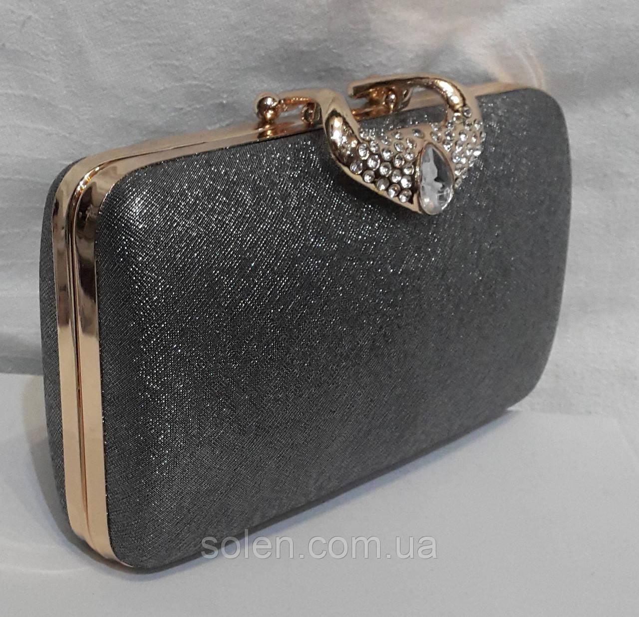Вечерняя сумочка клатч на цепочке. Вечерний  клатч.