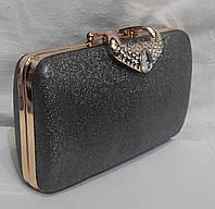 Вечерняя сумочка клатч на цепочке. Вечерний  клатч., фото 1