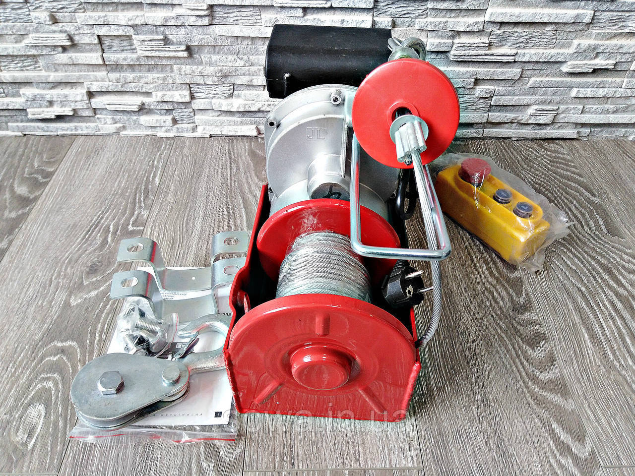 ✔️ Електрична лебідка, тельфер Euro Craft HJ208 _ 500/1000kg .