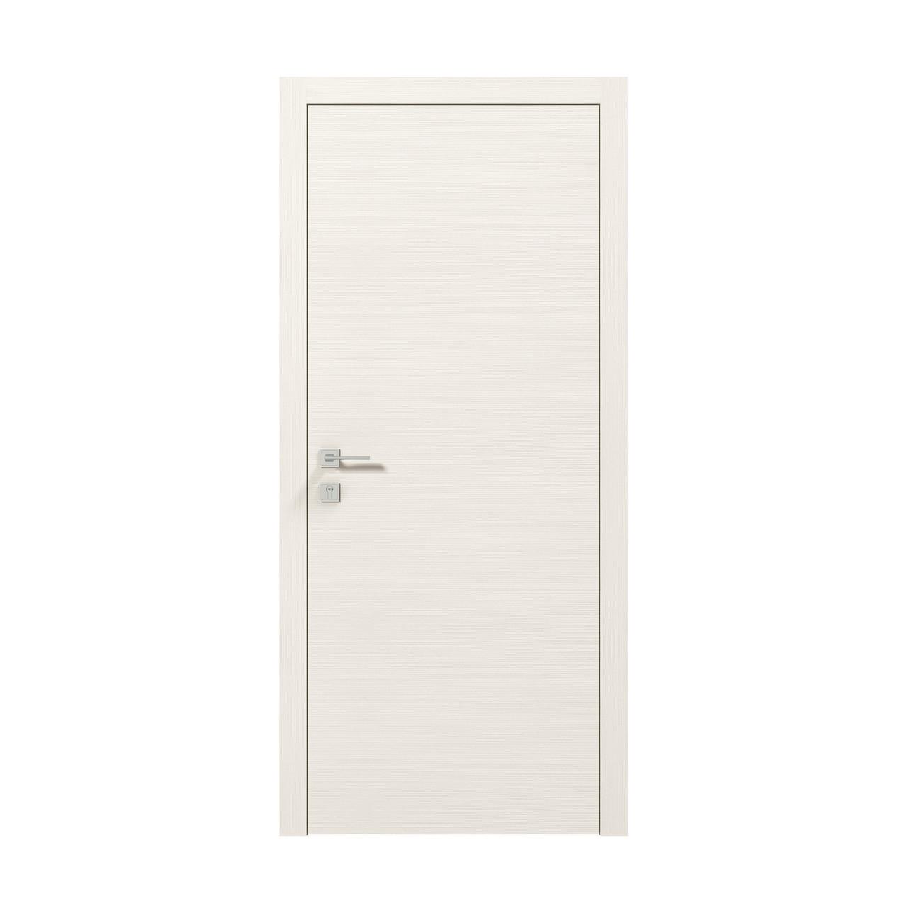Двери Modern FLAT. Полотно+коробка+1к наличников, срощенный брус сосны, эко-шпон