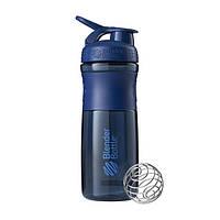 Blender Bottle, Спортивный шейкер-бутылка BlenderBottle SportMixer Navy, 760 мл, фото 1