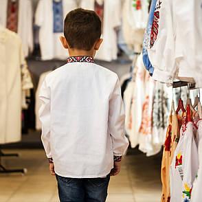 Сорочка вышиванка для мальчика, фото 2