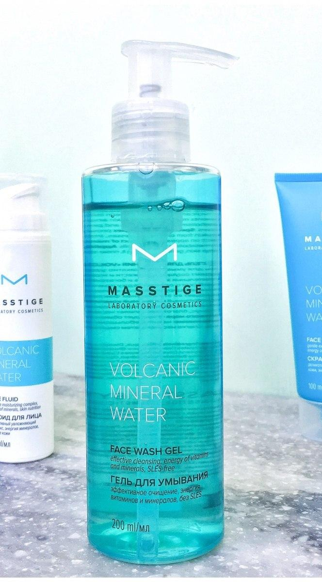 Гель для умывания Masstige Volcanic Mineral Water Face Wash Gel