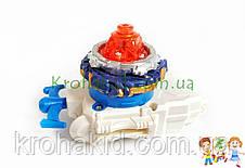 Игрушка BeyBlade Drain Fafnir В-79 / Бейблейд Дрейн Фафнир (оранжевый с синим) SB, фото 3