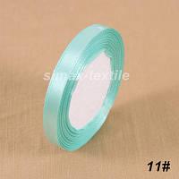 Атласная лента 10 мм, (33м/моток), лента атлас 1 см., атласные ленты