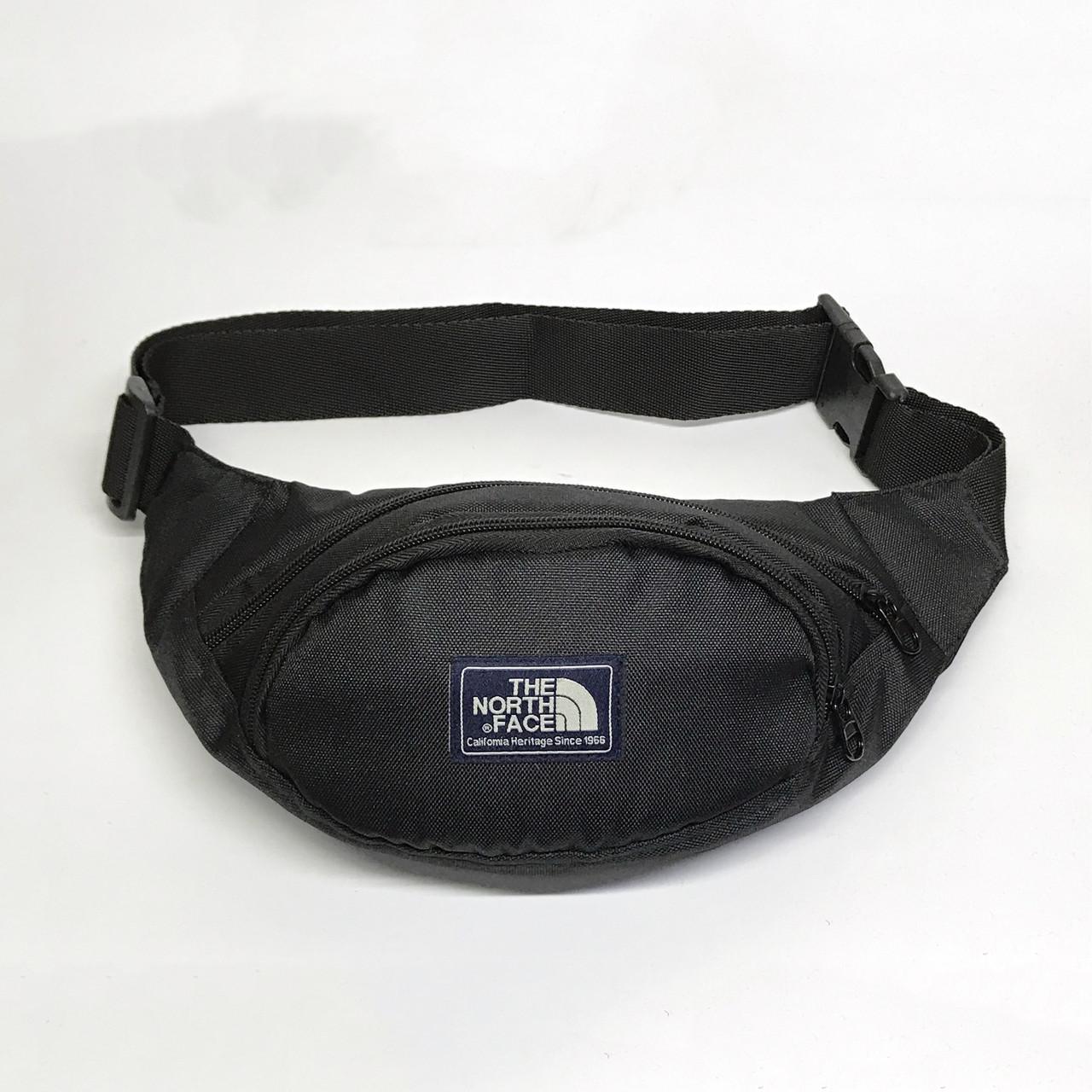 Поясная сумка в стиле TNF черная