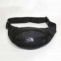 Поясная сумка в стиле TNF черная, фото 1