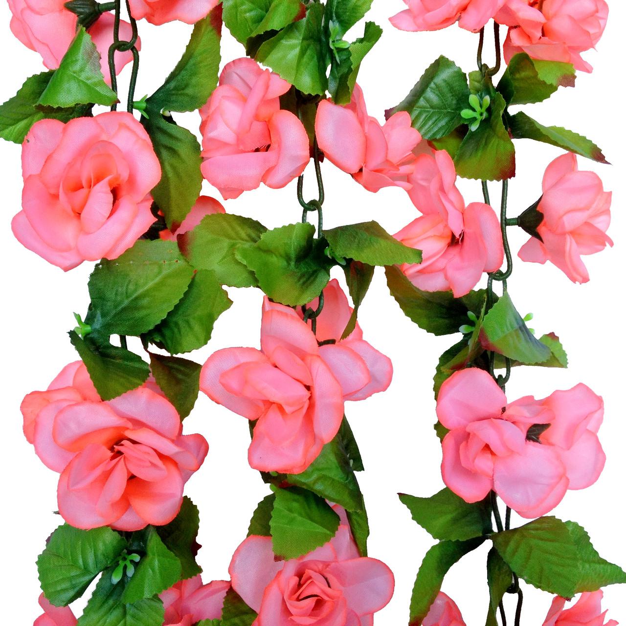 Лиана цепь роза раскрывая  1,8 м (20 шт в уп)