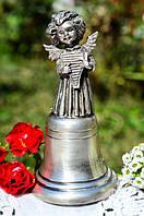 Роскошный коллекционный Колокольчик- Ангел! Серебро!