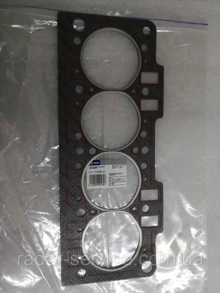 Прокладки головки блока двигателя Сенс 1.4i Ланос 1.4i, 317-1003020-01
