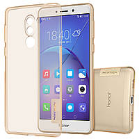 TPU чехол Nillkin Nature Series для Huawei Honor 6X / Mate 9 Lite / GR5 2017 Золотой (прозрачный) (00000018080_141)