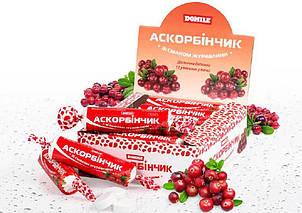 АСКОРБИНЧИК со вкусом КЛЮКВЫ 12 штук в коробке