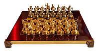 Шахматы Manopoulos 670016 28х28 см бронзовые