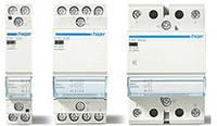 Контактор безшумный с ручным управлением 25A, 2НВ, 24В, 2м Hager (ERD625S), фото 1