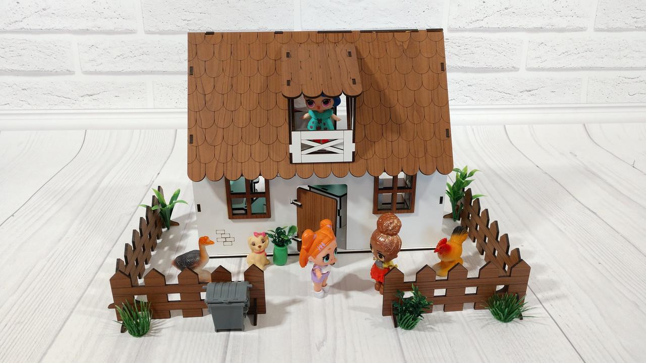 Сельский домик + мебель + текстиль + свет