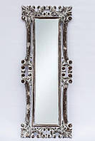 Зеркало на стену BST 530077 145*55 см серое