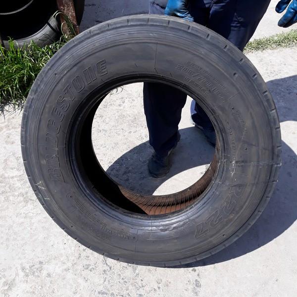 Шины б.у. 285.70.r19.5 Bridgestone R227 Бриджстоун . Резина бу для грузовиков и автобусов