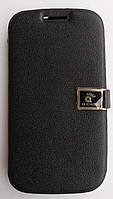 Чехол-книжка для Samsung Galaxy S3 i9300, Кожаный с силиконовой основой, Q-CASE, Черный /case/кейс /самсунг, фото 1