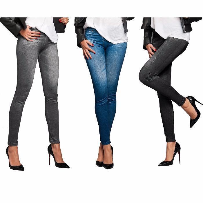 Утягивающие джинсы джеггинсы Slim 'n Lift Jeans, женские лосины