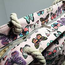 Сумка пляжная текстильная летняя опт, фото 2