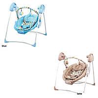 Детский шезлонг качалка Alexis-Babymix SW108 (арт.17340)