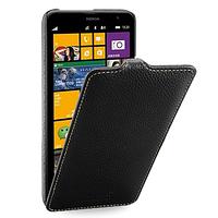 Кожаный чехол (флип) TETDED для Nokia Lumia 1320 чёрный