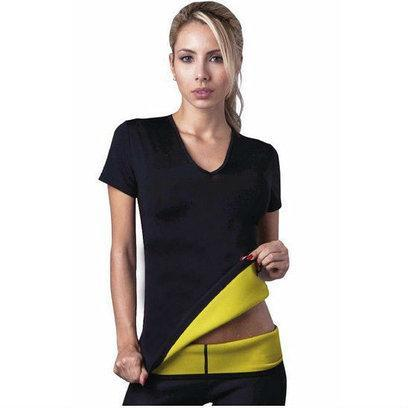 Женская футболка для похудения Hot Shapers, ефект сауны