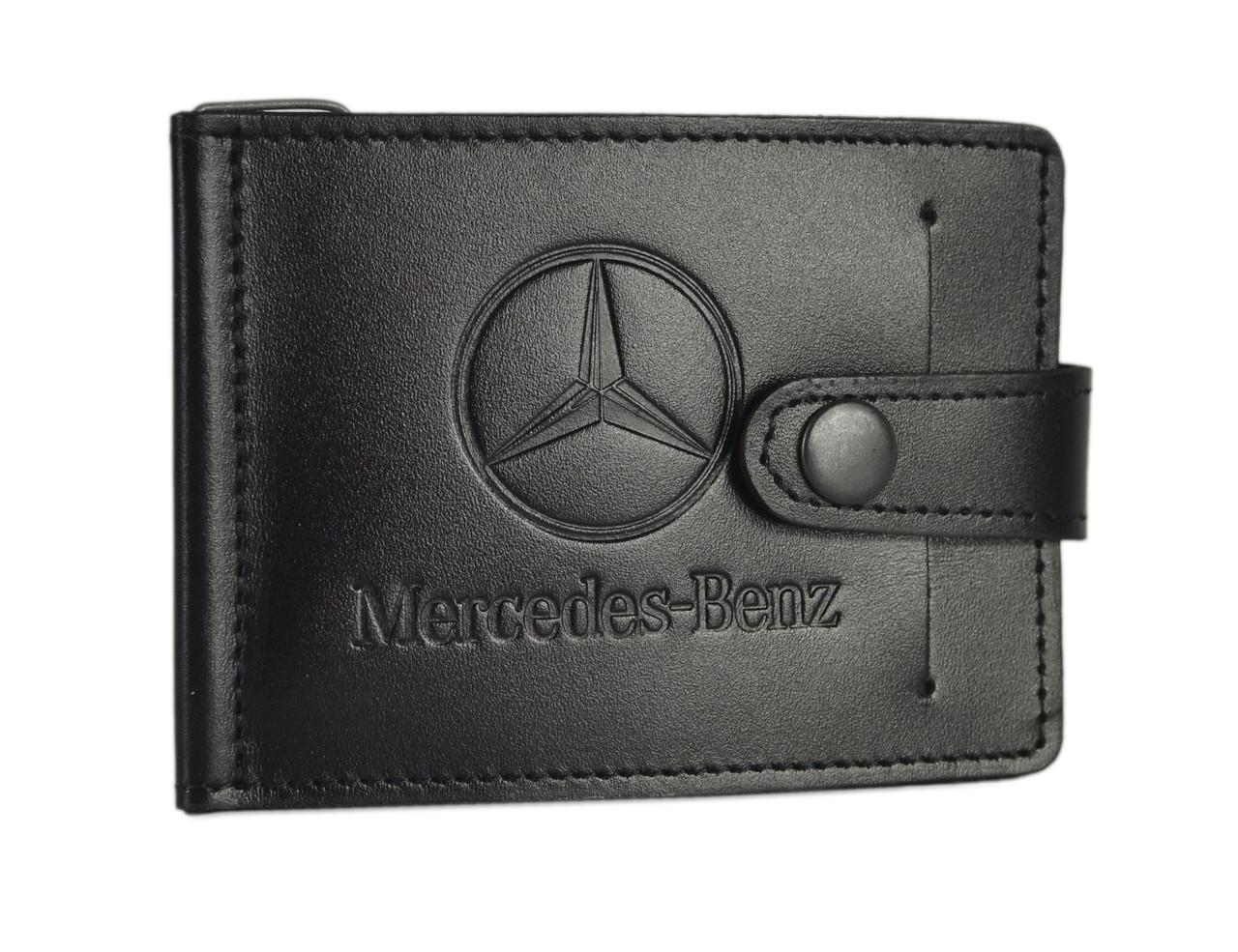 Зажим для купюр SaLeather Mecedes-Benz 4021-035, фото 1
