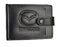 Зажим для купюр з карманом для монет Mazda 4021-038