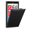 Кожаный чехол (флип) TETDED для Nokia Lumia 1520 чёрный