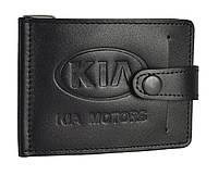 Зажим для купюр з карманом для монет KIA SaLeather 4021-029, фото 1