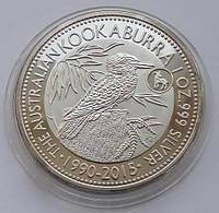 Австралия Кукабара 1 доллар 2015 г.