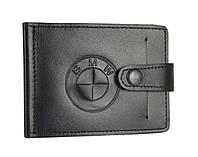 Зажим для купюр з карманом для монет BMW SaLeather 4021-017, фото 1