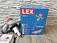 ✔️ Миксер строительный Lex LXM 235 / 2 скорости,  2350 Вт