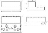Корпус для лампового підсилювача звуку, MB-6p3c(S) (Ш400 Г344 В176(66)) чорний, RAL9005(Black textured), фото 4
