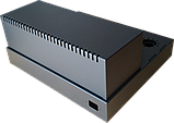 Корпус для лампового підсилювача звуку, MB-6p3c(S) (Ш400 Г344 В176(66)) чорний, RAL9005(Black textured), фото 2