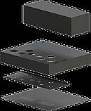 Корпус для лампового підсилювача звуку, MB-6p3c(S) (Ш400 Г344 В176(66)) чорний, RAL9005(Black textured), фото 10