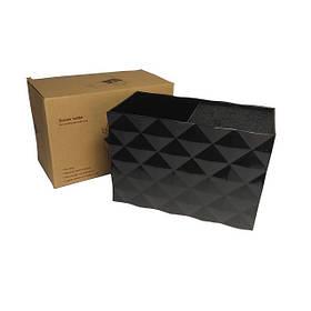 Подставка двойная для парикмахерских ножниц и инструментов SPL 21123, черная