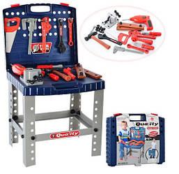 Детский игровой набор инструментов 008-21в чемодане, 40-34см