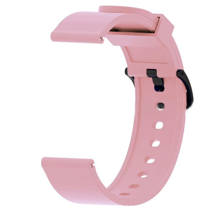 Силиконовый ремешок для смарт-часов Xiaomi AMAZFIT Bip Pink (Розовый)