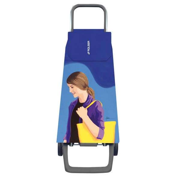 Сумка-тележка Rolser Jet Face Joy 40 Azul-Lois