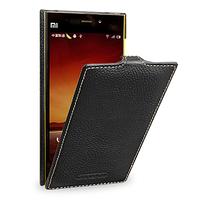 Кожаный чехол (флип) TETDED для Xiaomi Mi3 чёрный
