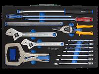 Набор инструмента комбинированный 24 предмета  (EVA ложемент)