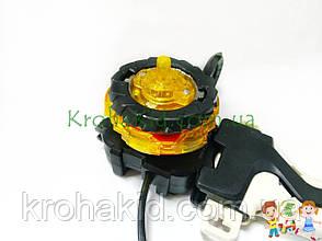 Игрушка BeyBlade Screw Trident B-103 / Бейблейд Скрю Трайдент / Трезубец (желтый с красным) SB, фото 2
