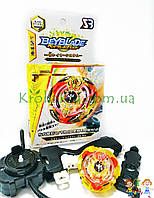 Игрушка BeyBlade Screw Trident B-103 / Бейблейд Скрю Трайдент / Трезубец (желтый с красным) SB